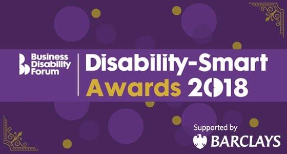 Logo for Disability Smart awards