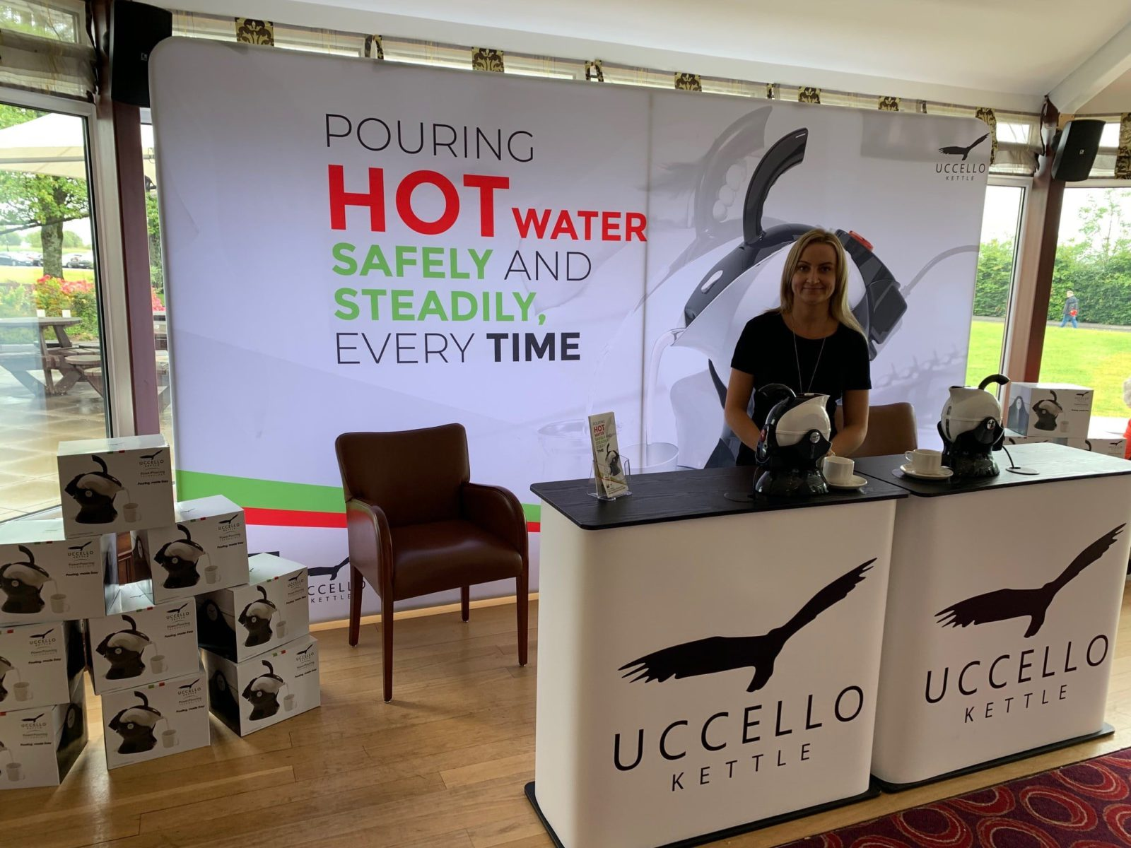Image of Uccello at Over 50s Expo Athlone