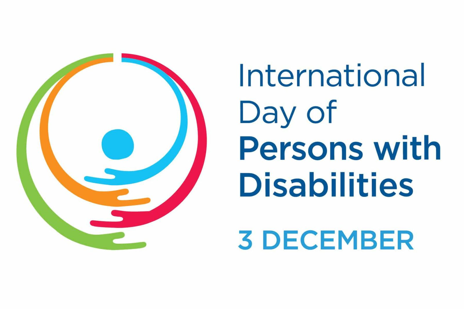 Banner of International Day of persons with disabilities