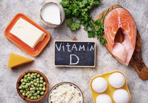 Image of food containing Vitamin D