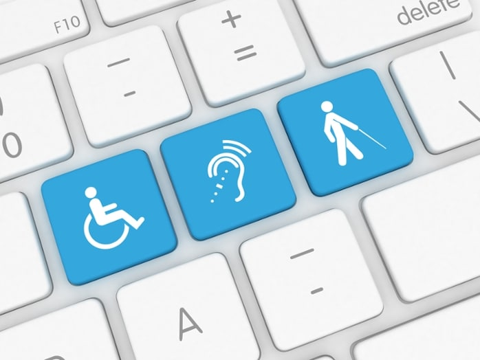 Image of Accessible Keyboard